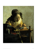 The Lacemaker Giclee Print by Jan Vermeer