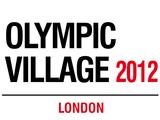 Olympic Village Tin Sign