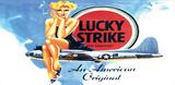 Lucky Strike Plakietka emaliowana