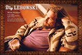 Big Lebowski White Russian Plakater