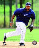 Prince Fielder 2012 Action Photo
