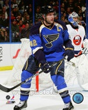 David Backes 2011-12 Action Photo