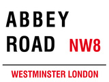 Abbey Road Blechschild