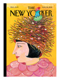 The New Yorker Cover - March 26, 2012 Regular Giclee Print by Maira Kalman