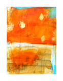 Orange Abstract, c.2009 Premium Giclee Print by Alison Black