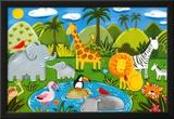 Jungle Fun Prints by Sophie Harding
