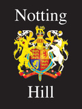 Notting Hill Tin Sign