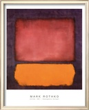 Rothko - Untitled 1962 Poster by Mark Rothko