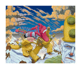 Tickled Pink Collectable Print by Robert Williams