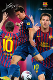 FC Barcelona - Lionel Messi 2011/2012 Poster Kunstdrucke