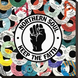Northern Soul Stretched Canvas Print