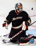 Jonas Hiller 2011-12 Action Photo