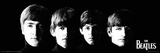 Beatles Black Print