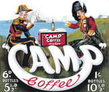 Camp Coffee Tin Sign