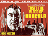 Taste the Blood of Dracula Plaque en métal