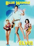 Elvis - Blue Hawaii Plechová cedule