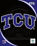 Texas Christian University Horned Frogs Team Logo Photo