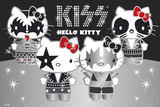Hello Kitty-Kiss Group Posters