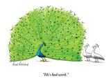 """He's had work."" - New Yorker Cartoon Premium Giclee Print by Mort Gerberg"