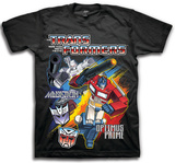 Youth: Transformers - Optimus Vs. Megatron Shirts
