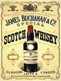 James Buchanan & Co Plakietka emaliowana