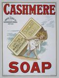 Cashmere Soap Cartel de chapa