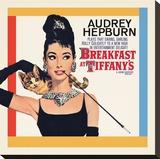 Audrey Hepburn, Breakfast at Tiffanys Leinwand