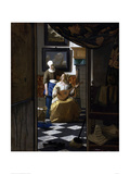 The Love Letter Giclee Print by Jan Vermeer