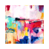 Multicolored Abstract, c. 2008 Premium Giclee Print by Alison Black