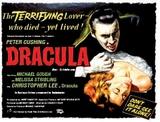 Dracula Targa di latta
