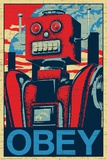 Robot Obey Prints