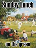 Sunday Lunch on the Green Blikkskilt av Kevin Walsh