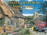 Master Thatcher Tin Sign by Trevor Mitchell