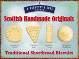 Scottish Shortbread Tin Sign