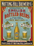Notting Hill Brewery Tin Sign