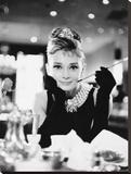Audrey Hepburn, Breakfast at Tiffanys Reproduction sur toile tendue