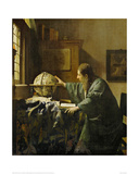 The Astronomer Giclee Print by Jan Vermeer
