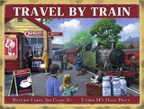 Kevin Walsh - Travel by Train Tin Sign
