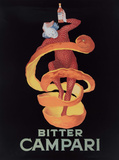 Bitter Campari Tin Sign