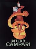 Bitter Campari Placa de lata
