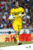 Real Madrid - Iker Casillas 2011/2012 Plakaty