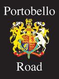 Portobello Road - with crest Blechschild