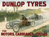 Dunlop Tyres Tin Sign