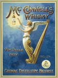 McConnells whisky Cartel de chapa