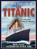 Titanic Plakietka emaliowana