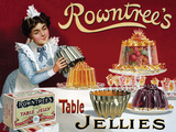 Rowntree's Jellies Tin Sign