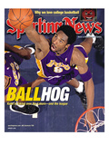 Los Angeles Lakers Kobe Bryant - January 8, 2001 Print