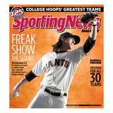 San Francisco Giants Pitcher Tim Lincecum - March 28, 2011 Prints