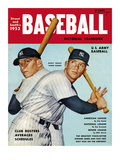 Sporting News Magazine, 1953 - Mickey Mantle - Yankee Bomber Posters