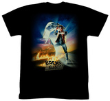 Back To The Future - BTF Poster Tシャツ